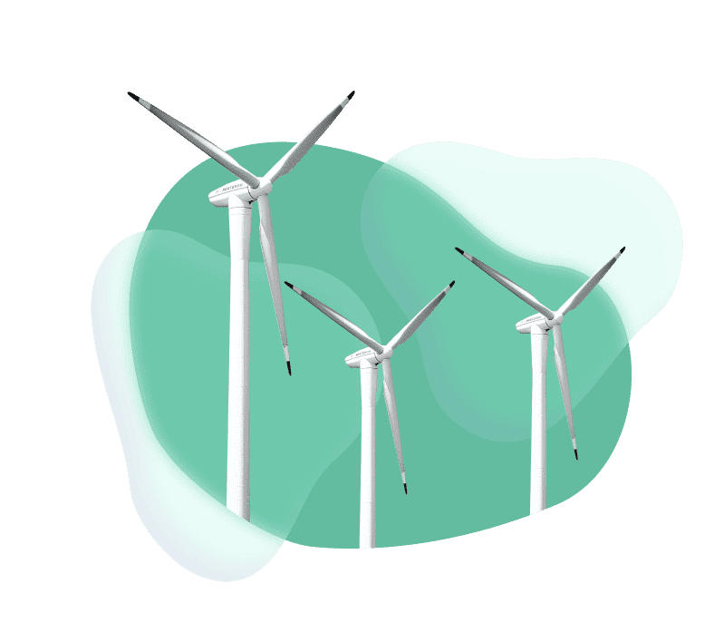 contribution-neutrality-carbon-wind turbines